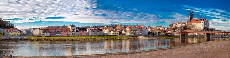 Бесплатные фото Meissen,Germany,Майсен,Германия,панорама