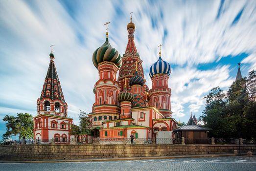Фото бесплатно Москва, Россия, Храм Василия Блаженного