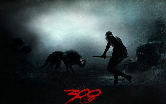 Photo free 300 Spartans, a boy, a stick