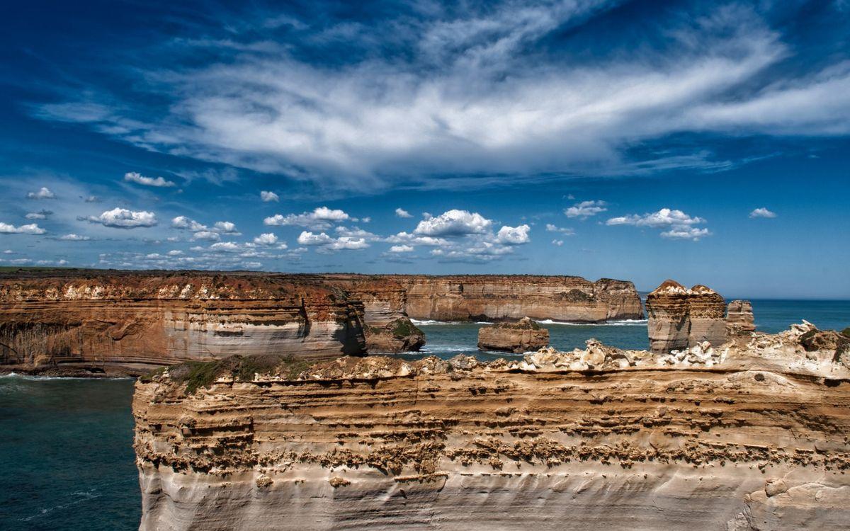 Фото бесплатно море, скалы, небо - на рабочий стол
