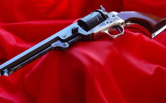 Photo free pistol, revolver, barrel