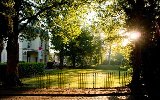 Фото бесплатно площадка, дом, ворота