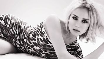 Фото бесплатно блондинка, черно-белое, глаза