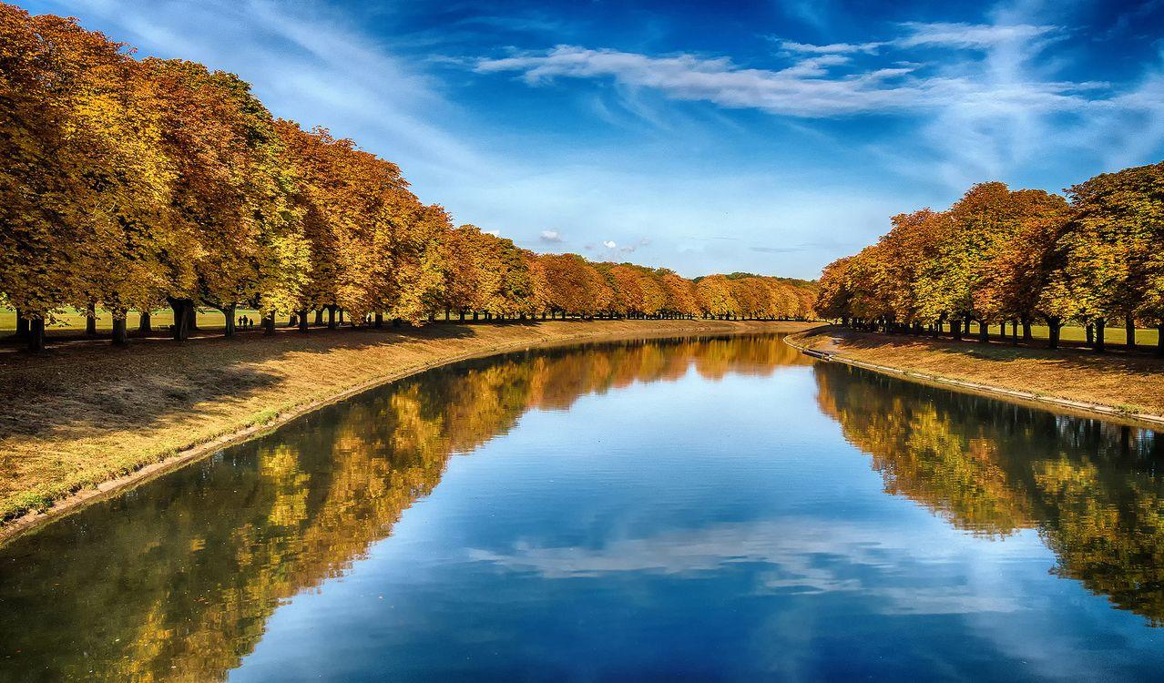 Фото бесплатно Германия, осень, река - на рабочий стол