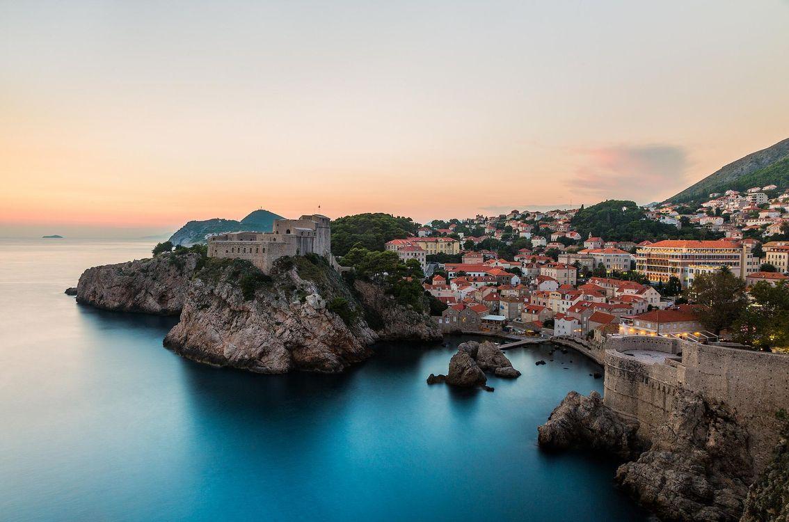 Фото бесплатно Дубровник, Хорватия - на рабочий стол
