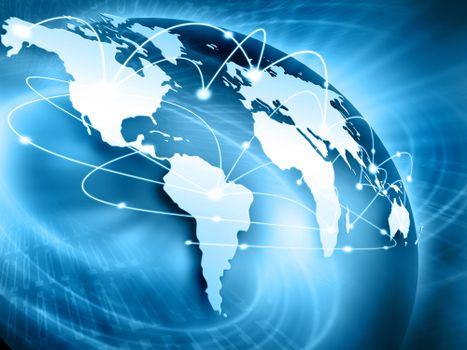 Материки визуальные сети фото · бесплатное фото