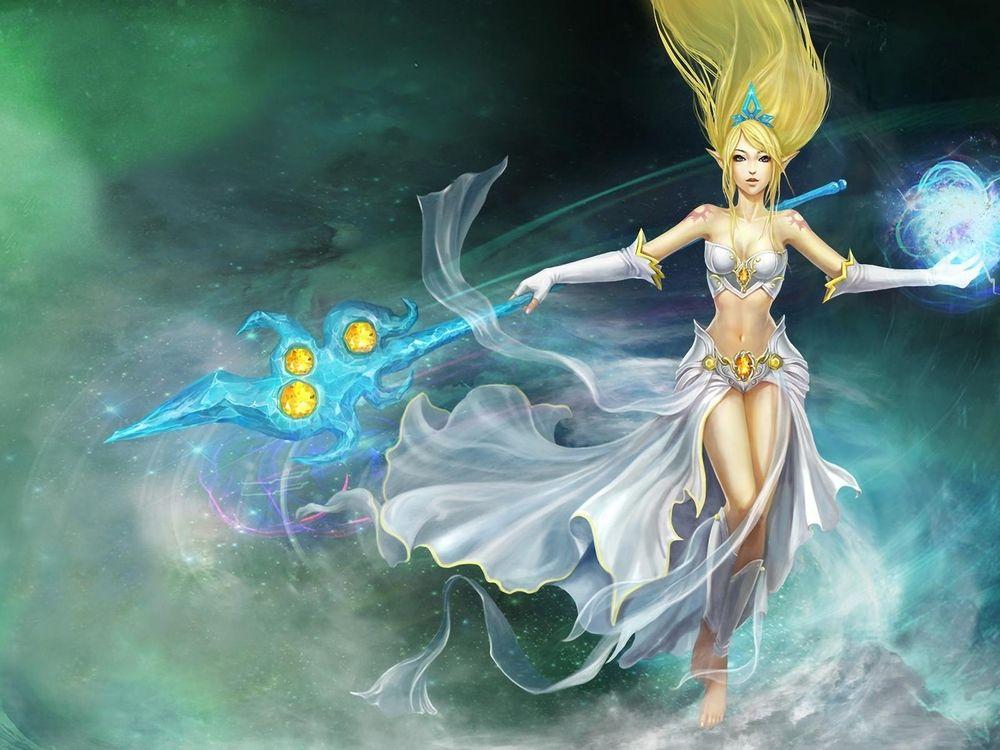 Фото бесплатно игра, онлайн, персонаж, девушка, грация, красота, игры