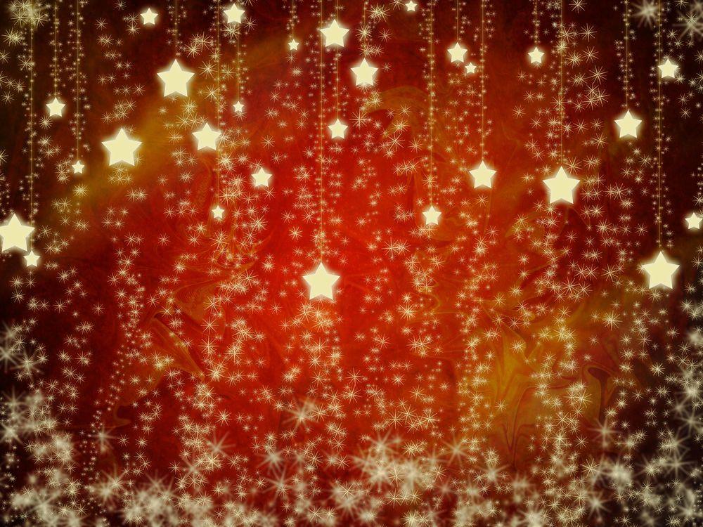 Новогодняя абстракция · бесплатное фото