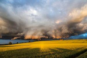 Заставки поле, шторм, буря