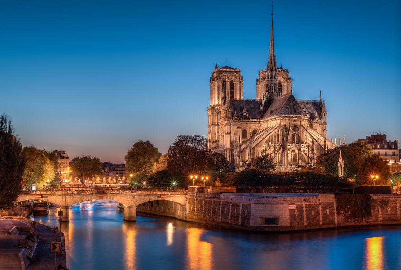 Обои Собор Парижской Богоматери, Notre-Dame de Paris, Paris, France, Париж, Франция на телефон   картинки город - скачать