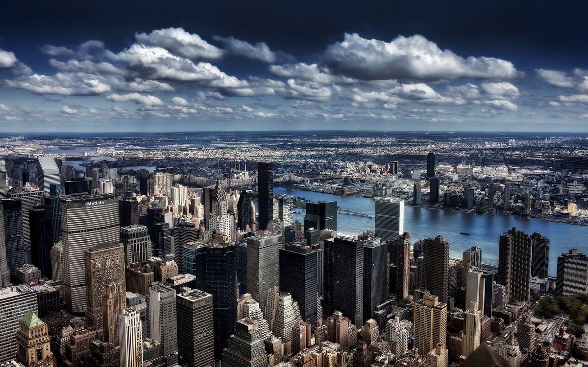 Фото бесплатно New-York, Нью-Йорк, небоскребы - на рабочий стол