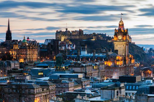 Скачать эдинбург, шотландия обои на телефон бесплатно