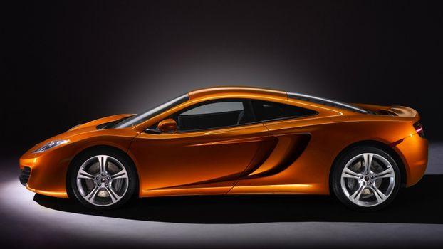 Photo free kenigssegg, sports car, orange