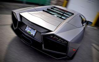 Бесплатные фото Lamborghini, aventador, tuning, reventon, черный, матовый, вид сзади