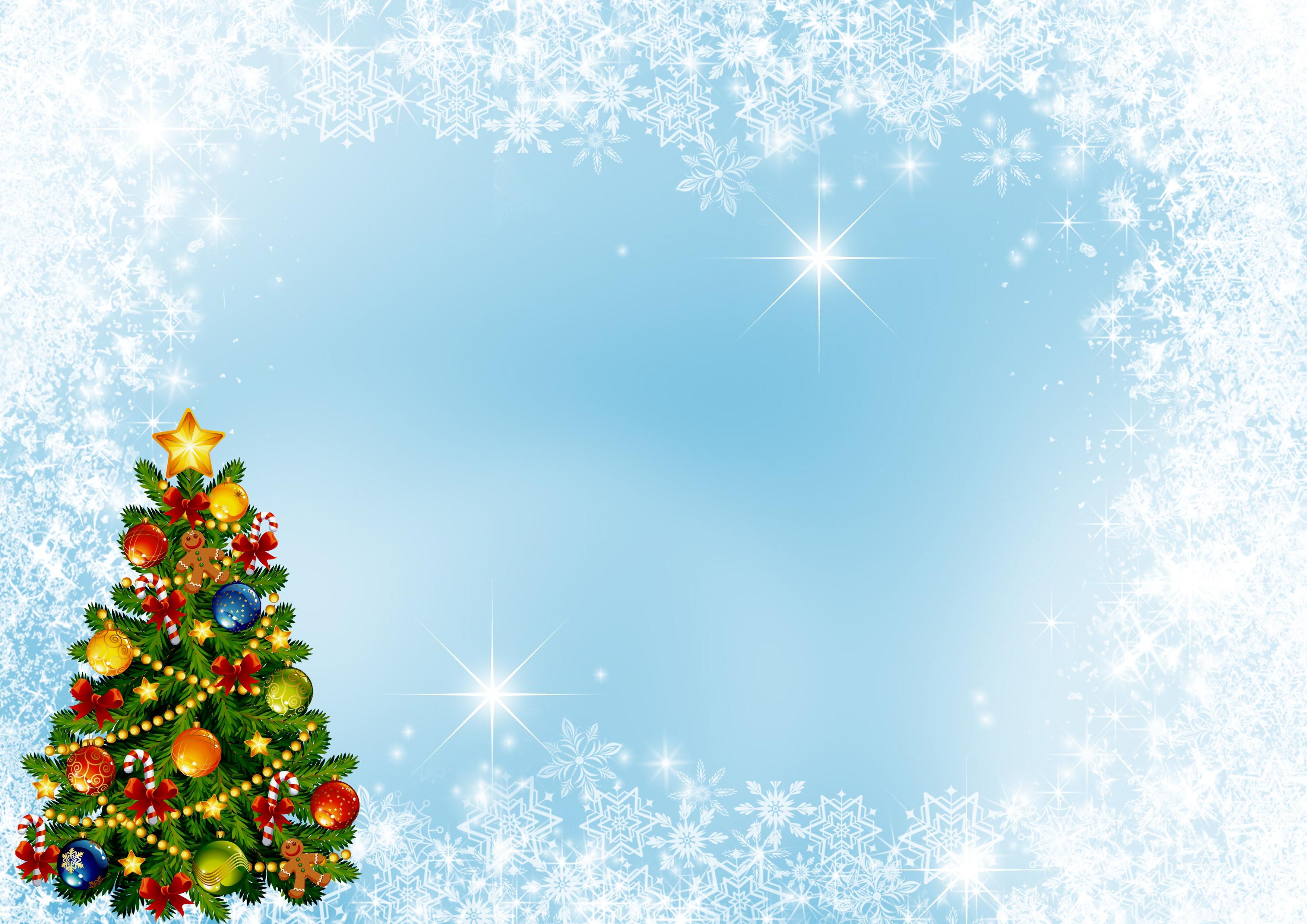 Новогодние фоны красивые