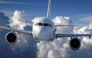 Заставки самолет, пассажирский, кабина, крылья, турбины, полет, облака