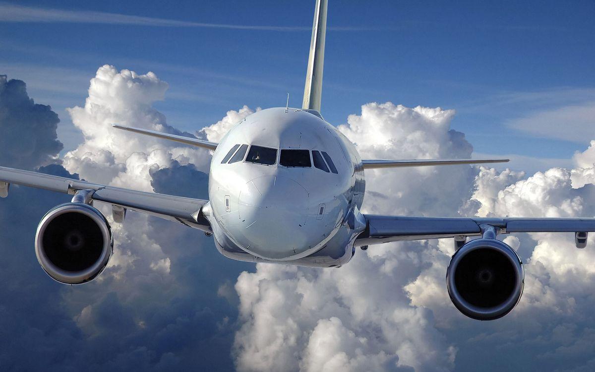 Фото бесплатно самолет, пассажирский, кабина - на рабочий стол