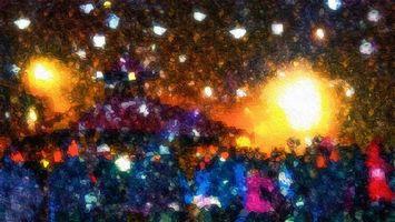Фото бесплатно формы, цветовая гамма, абстракция