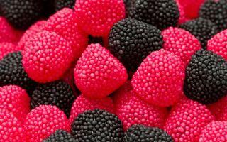 Бесплатные фото сладости,ежевика,малина,конфеты,мармелад