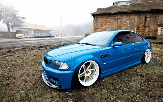 Photo free bmw, blue, toning