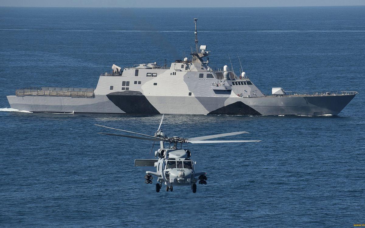 Фото бесплатно военный корабль, палуба, антенны - на рабочий стол