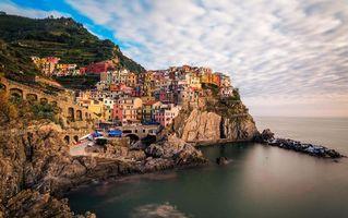 Заставки Manorola, Cinque Terre, Italy