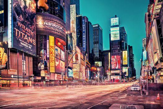 Фото бесплатно Нью-Йорк, США, Бродвей