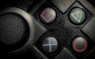 Заставки джойстик, черный, кнопки