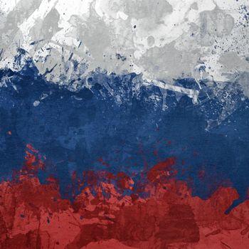Фото бесплатно флаг, России, нарисован
