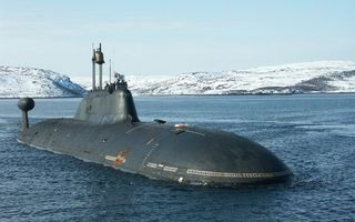 Заставки субмарина, подводная лодка, экипаж, море, берег, холмы, снег