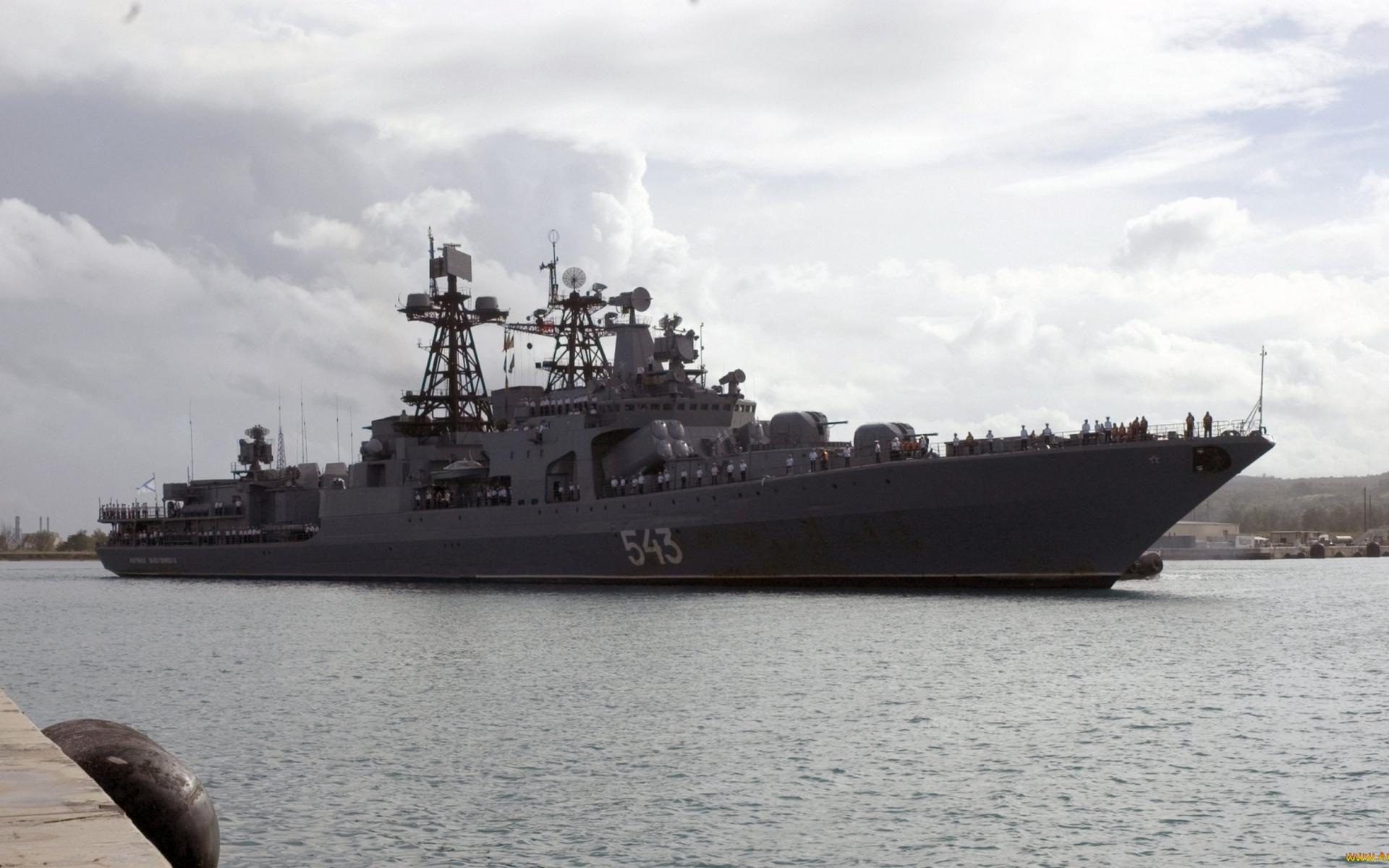 военный корабль, палуба, вооружение