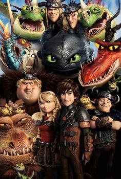 Бесплатные фото Как приручить дракона,мультфильм,фэнтези,комедия,приключения,семейный,постер