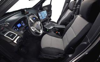 Фото бесплатно полицейский форд, салон, руль