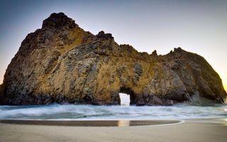 Фото бесплатно песок, берег, скала